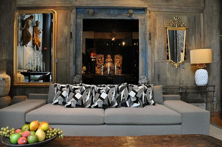 Muốn phòng khách màu xám vừa đẹp vừa sang thì bạn nhất định phải biết đến điều này - Ảnh 10.