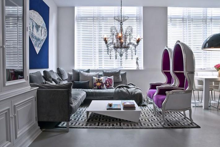 Muốn phòng khách màu xám vừa đẹp vừa sang thì bạn nhất định phải biết đến điều này - Ảnh 17.