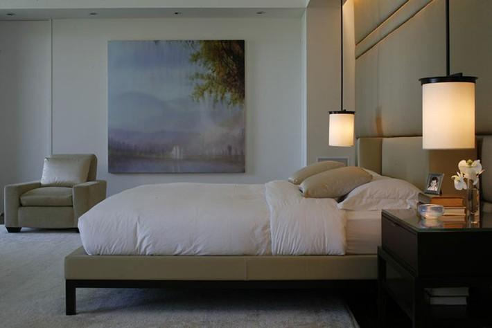Thử mà xem phòng ngủ đẹp biết mấy nhờ đèn thả trang trí - Ảnh 6.