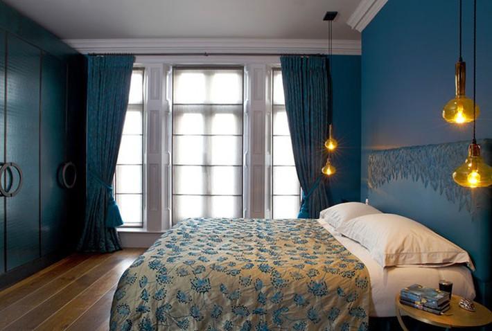 Thử mà xem phòng ngủ đẹp biết mấy nhờ đèn thả trang trí - Ảnh 13.