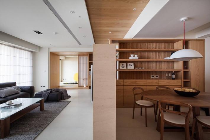 Căn hộ chung cư thiết kế thoáng đẹp như nhà vườn mang đậm chất Nhật Bản - Ảnh 7.