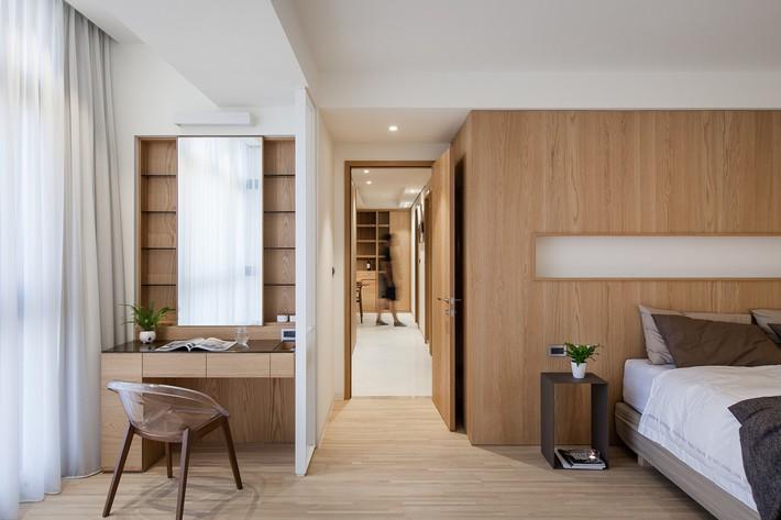 Căn hộ chung cư thiết kế thoáng đẹp như nhà vườn mang đậm chất Nhật Bản - Ảnh 11.