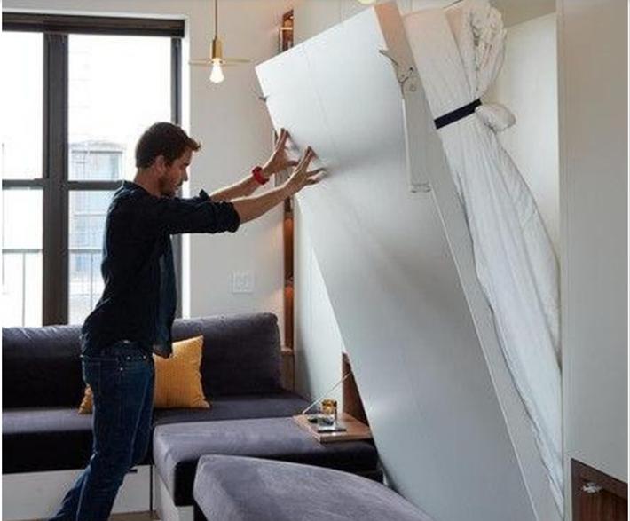 Những ý tưởng thiết kế tiết kiệm không gian bạn có thể bắt đầu mơ ước ngay bây giờ - Ảnh 14.