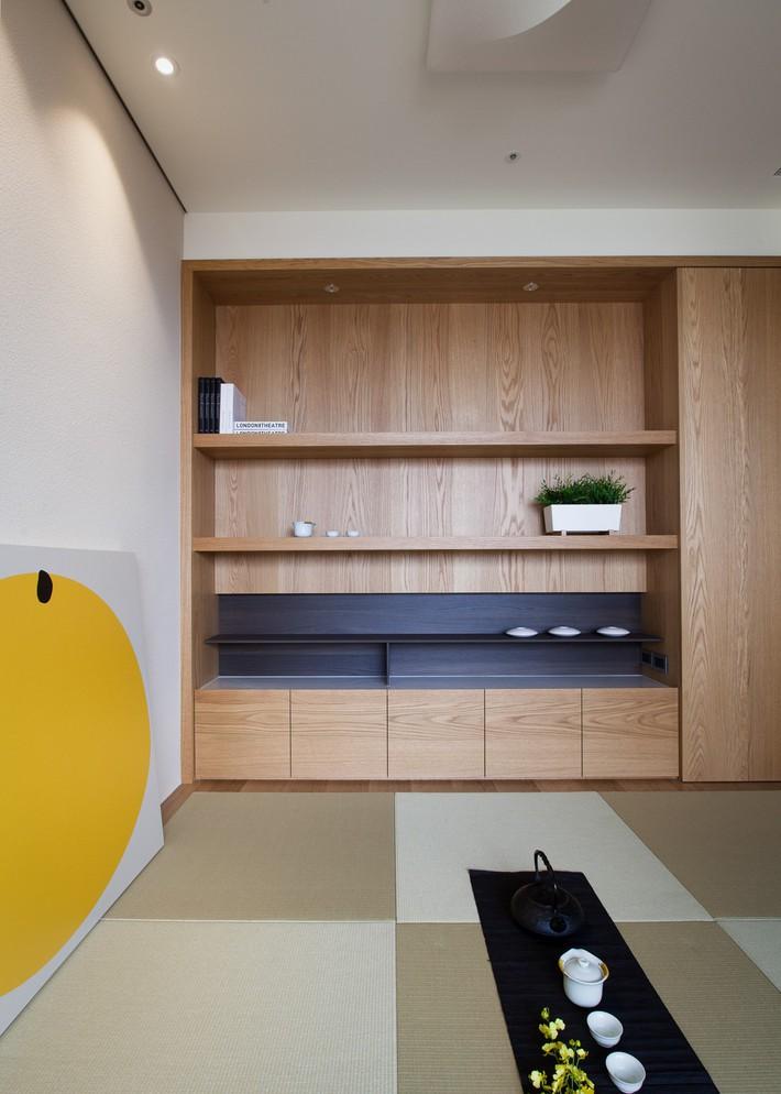 Căn hộ chung cư thiết kế thoáng đẹp như nhà vườn mang đậm chất Nhật Bản - Ảnh 3.