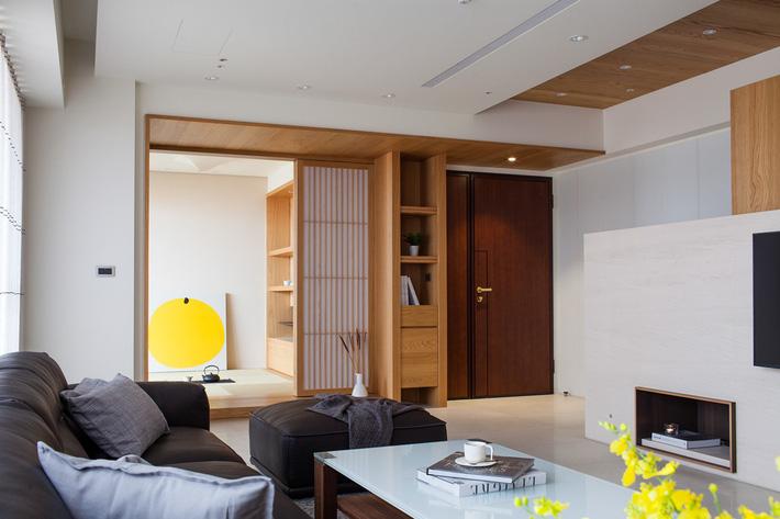 Căn hộ chung cư thiết kế thoáng đẹp như nhà vườn mang đậm chất Nhật Bản - Ảnh 2.