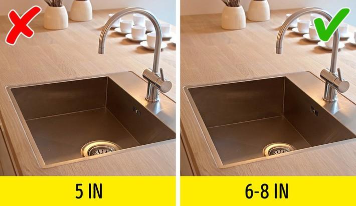 9 sai lầm trong thiết kế bếp khiến cuộc sống của bạn thêm lộn xộn và bất tiện - Ảnh 3.