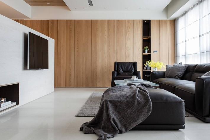 Căn hộ chung cư thiết kế thoáng đẹp như nhà vườn mang đậm chất Nhật Bản - Ảnh 1.