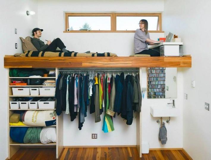 Những ý tưởng thiết kế tiết kiệm không gian bạn có thể bắt đầu mơ ước ngay bây giờ - Ảnh 2.