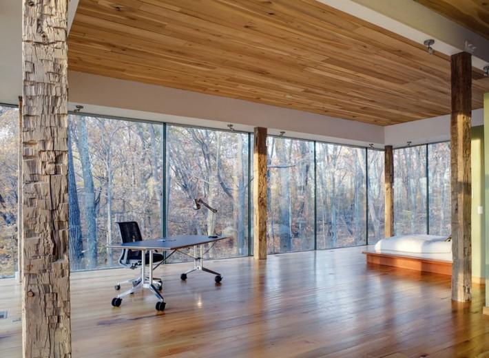 Ý tưởng độc đáo trang trí nhà với cửa kính rộng - Ảnh 8.