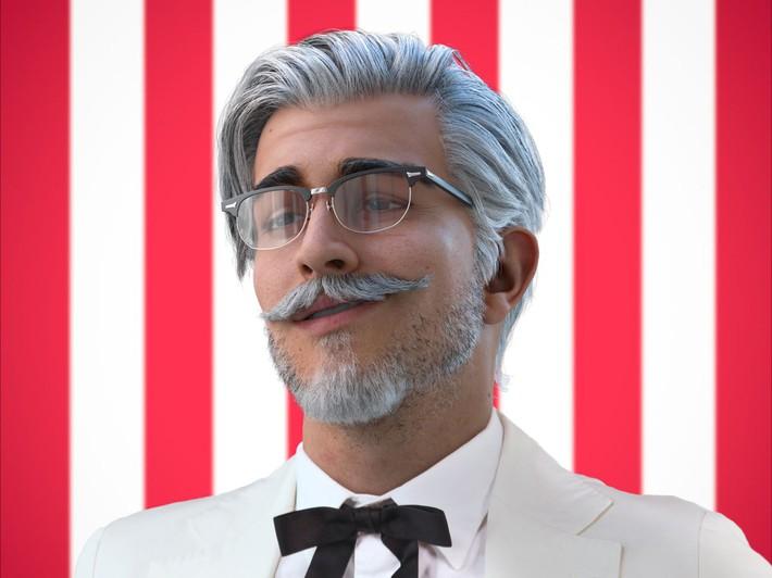 """Ngạc nhiên chưa: Ông già KFC phúc hậu ngày nào nay đã thành """"chú soái ca"""" phong trần, cơ bụng 6 múi như nam thần - Ảnh 1."""