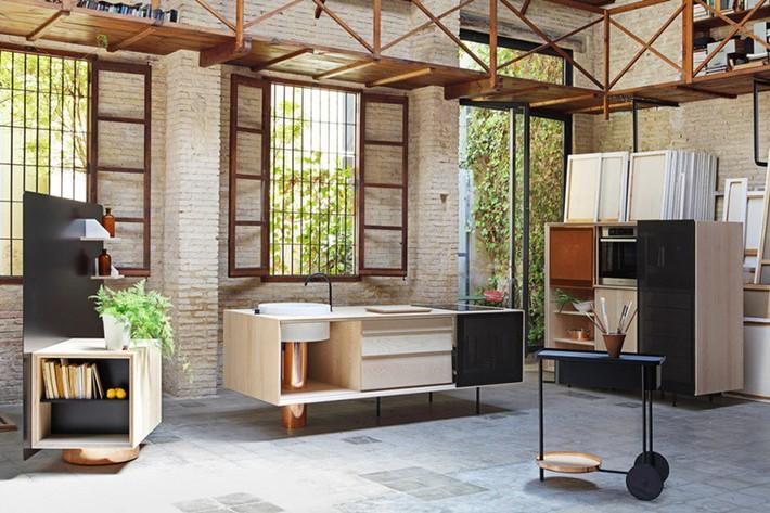 Căn bếp nhỏ gọn, độc đáo cho không gian sống hiện đại - Ảnh 1.
