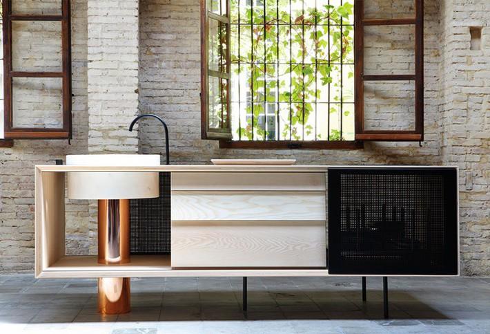 Căn bếp nhỏ gọn, độc đáo cho không gian sống hiện đại - Ảnh 4.