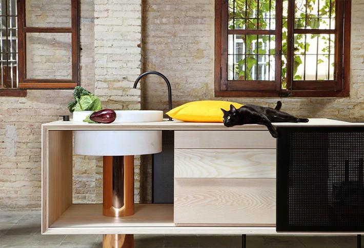 Căn bếp nhỏ gọn, độc đáo cho không gian sống hiện đại - Ảnh 7.