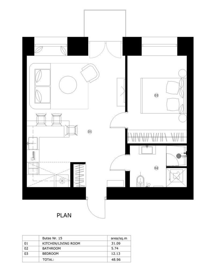 Cuộc sống trong những căn hộ nhỏ chưa được 46m² này dễ dàng hơn bạn tưởng! - Ảnh 6.