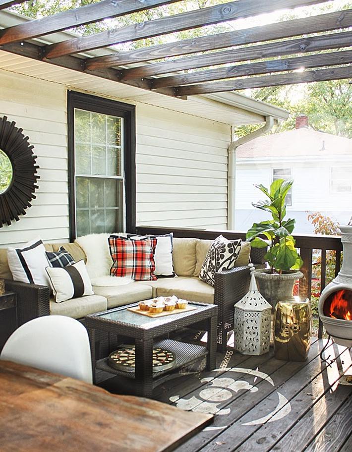 Những ý tưởng siêu đẹp mà bạn có thể dễ dàng áp dụng vào góc thư giãn của gia đình để chào đón mùa hè - Ảnh 10.