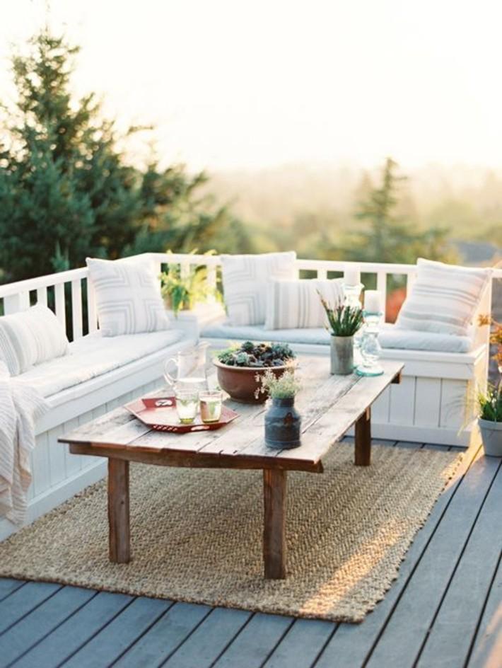 Những ý tưởng siêu đẹp mà bạn có thể dễ dàng áp dụng vào góc thư giãn của gia đình để chào đón mùa hè - Ảnh 11.
