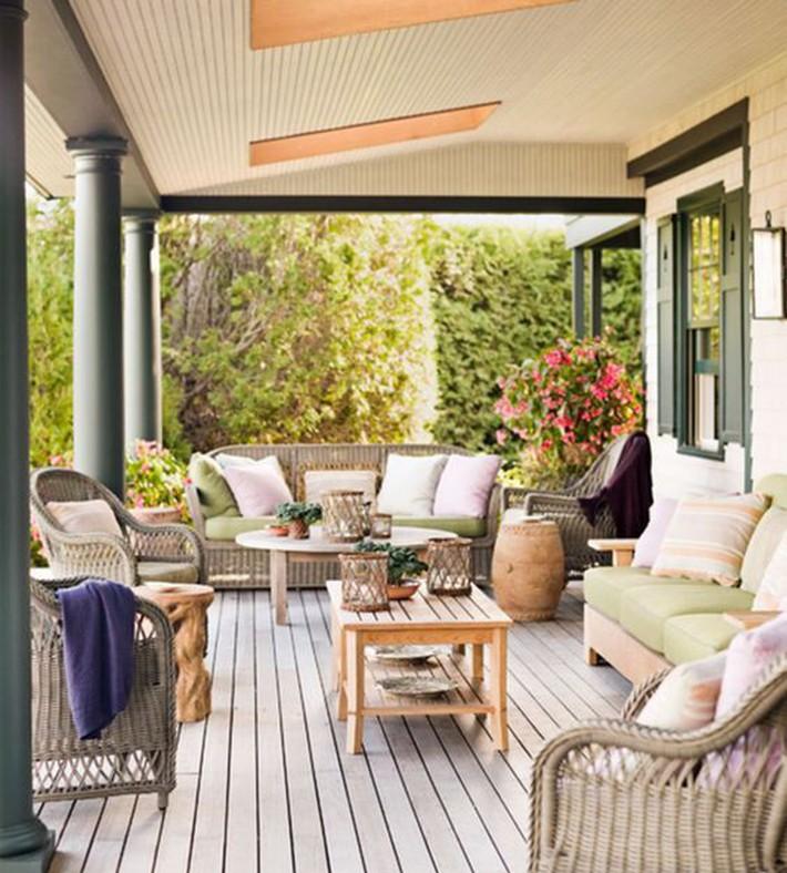 Những ý tưởng siêu đẹp mà bạn có thể dễ dàng áp dụng vào góc thư giãn của gia đình để chào đón mùa hè - Ảnh 12.
