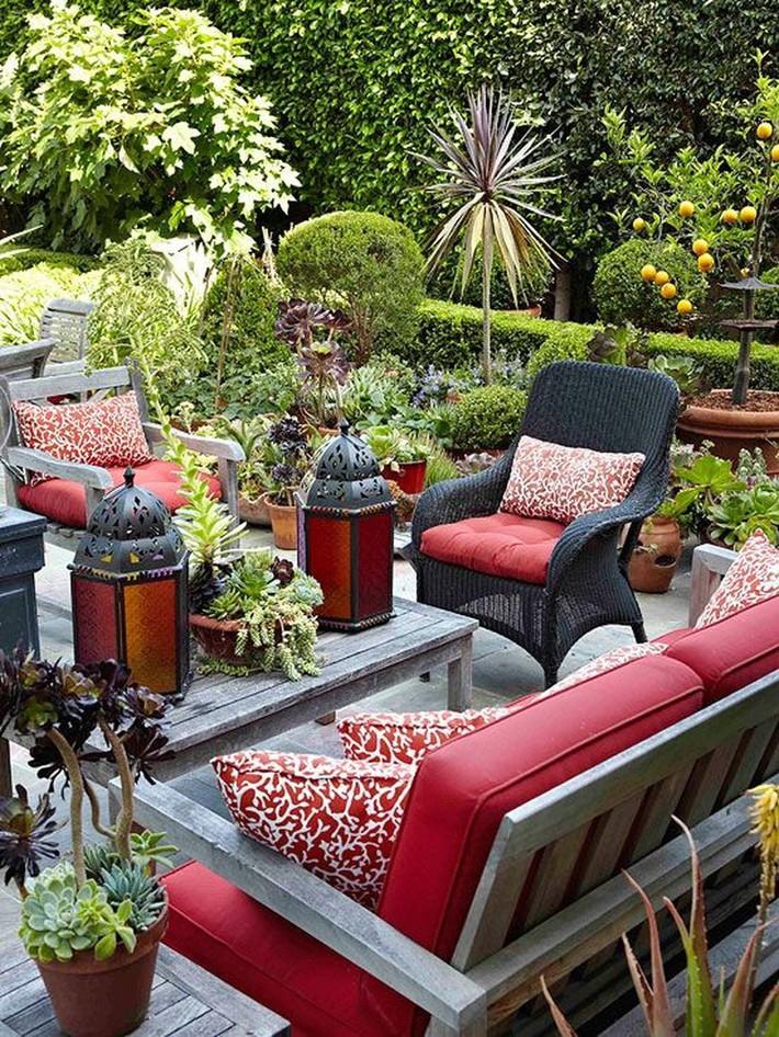 Những ý tưởng siêu đẹp mà bạn có thể dễ dàng áp dụng vào góc thư giãn của gia đình để chào đón mùa hè - Ảnh 13.