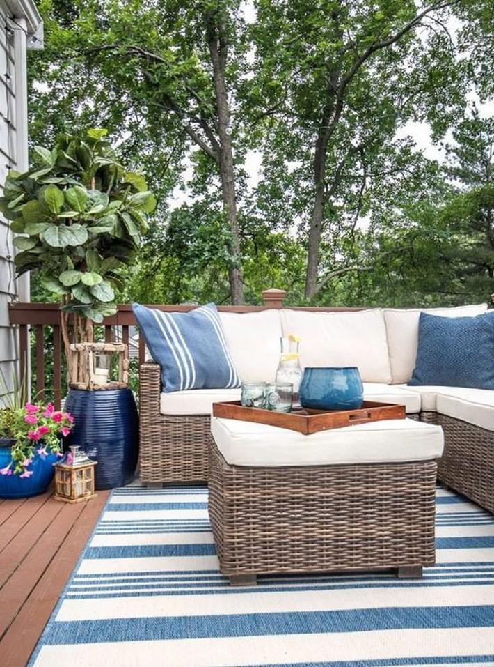 Những ý tưởng siêu đẹp mà bạn có thể dễ dàng áp dụng vào góc thư giãn của gia đình để chào đón mùa hè - Ảnh 2.