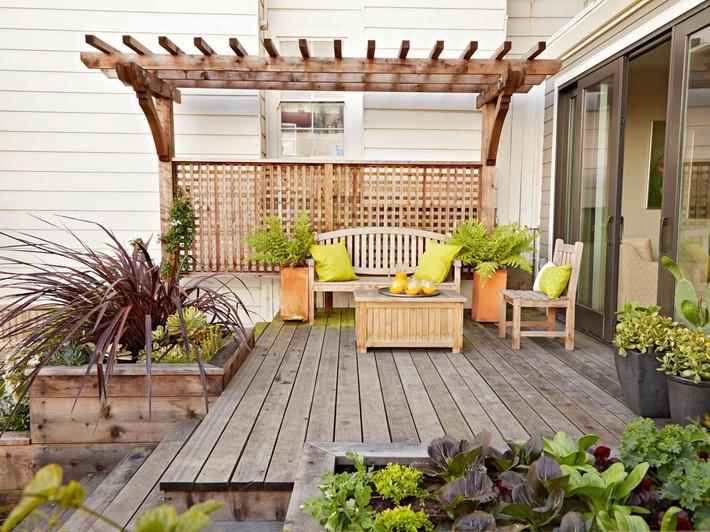 Những ý tưởng siêu đẹp mà bạn có thể dễ dàng áp dụng vào góc thư giãn của gia đình để chào đón mùa hè - Ảnh 4.