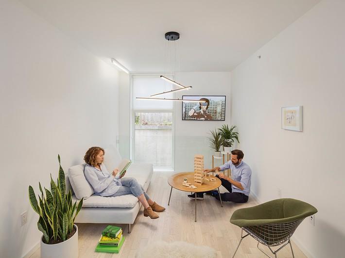 Ngôi nhà 32m² thiết kế như tòa cao ốc mini khiến ai nấy đều trầm trồ - Ảnh 7.