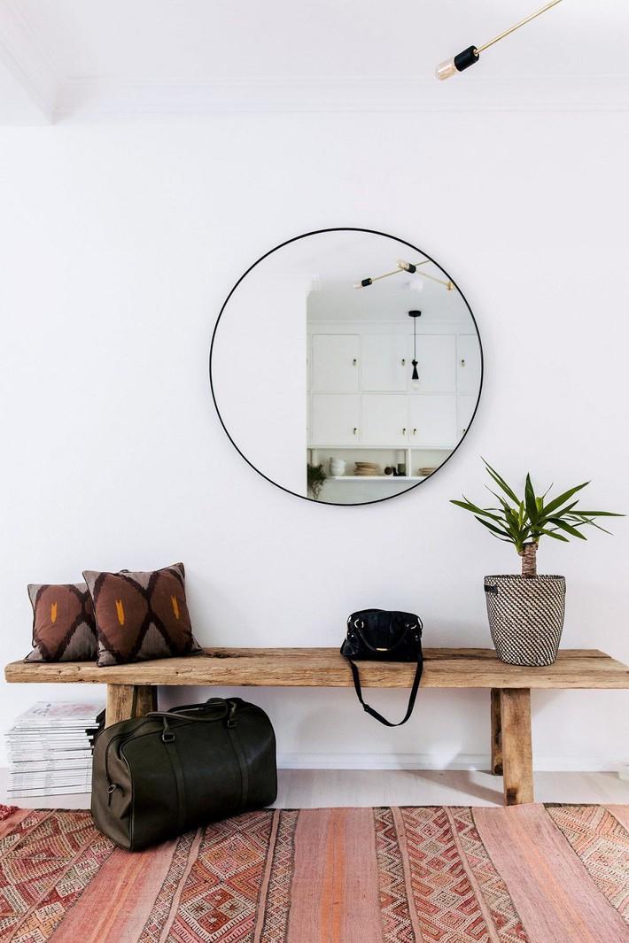 Ngừng biến lối vào nhà mình thành góc chết nhờ 3 ý tưởng thiết kế phổ biến và độc đáo này - Ảnh 6.