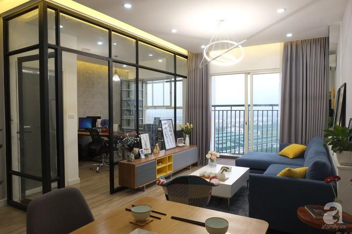 Căn hộ hạ gục mọi ánh nhìn nhờ thiết kế tường kính sáng tạo, đa chức năng ở Long Biên, Hà Nội - Ảnh 4.