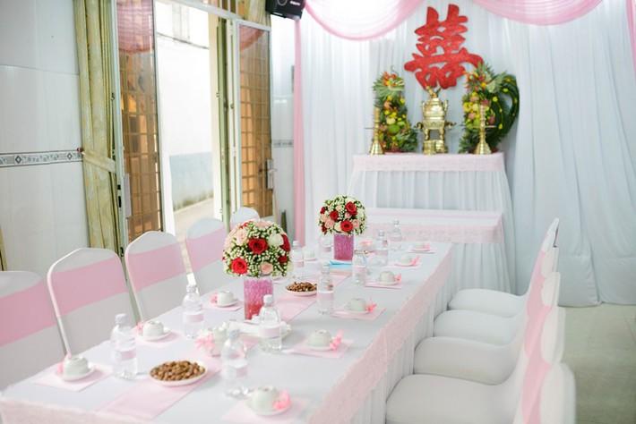 Gợi ý trang trí nhà đám cưới theo tông màu  - Ảnh 1.