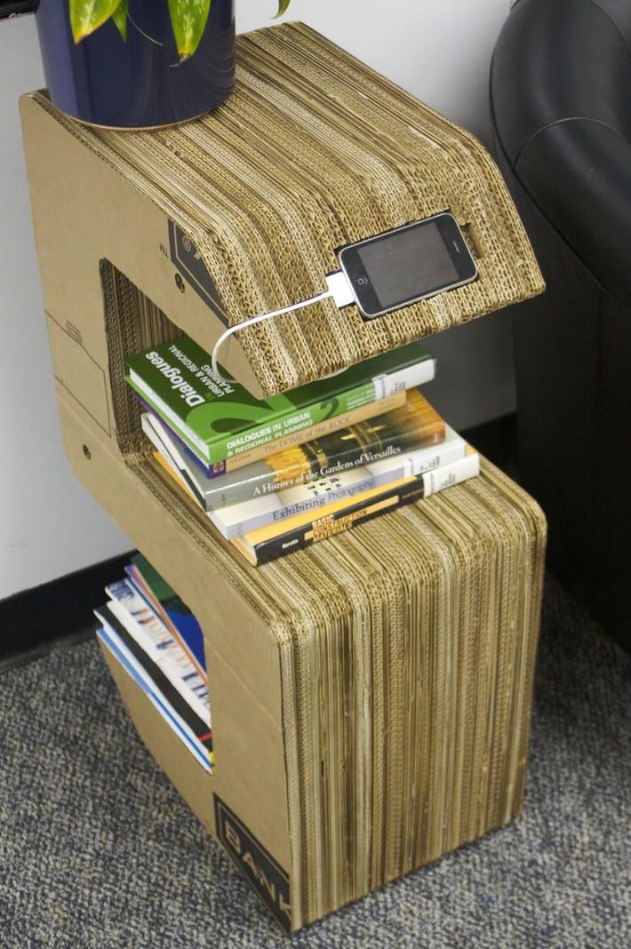 Bạn sẽ không bao giờ bỏ bìa các tông nữa sau khi biết 10 cách tái chế cực hay này - Ảnh 4.