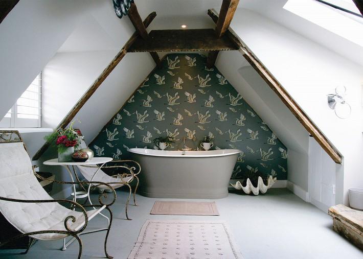 Tận dụng gác mái làm phòng tắm, ý tưởng thiết kế vừa đẹp vừa độc đáo ngại gì mà không thử - Ảnh 5.