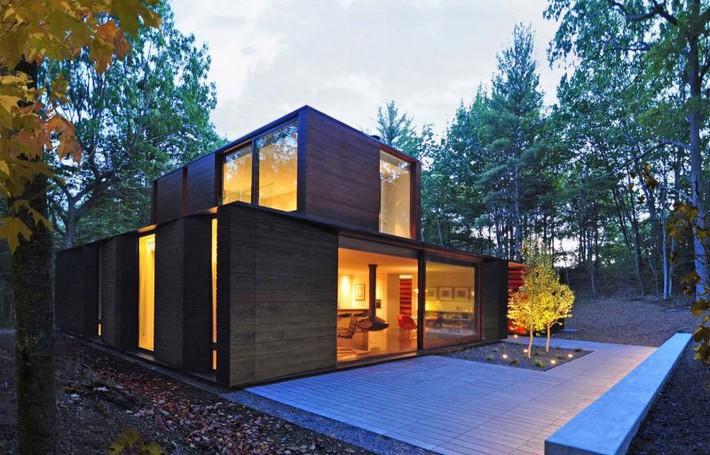 Ấn tượng với ngôi nhà bằng gỗ và kính của cặp vợ chồng thiết kế đồ họa - Ảnh 8.