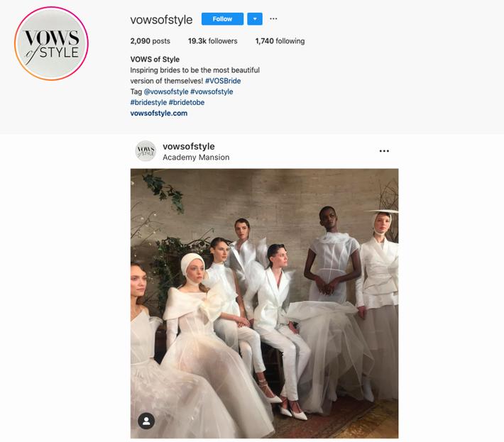 BST váy cưới PHUONG MY xuất hiện trên hàng loạt báo Mỹ sau New York Fashion Week Bridal - Ảnh 7.
