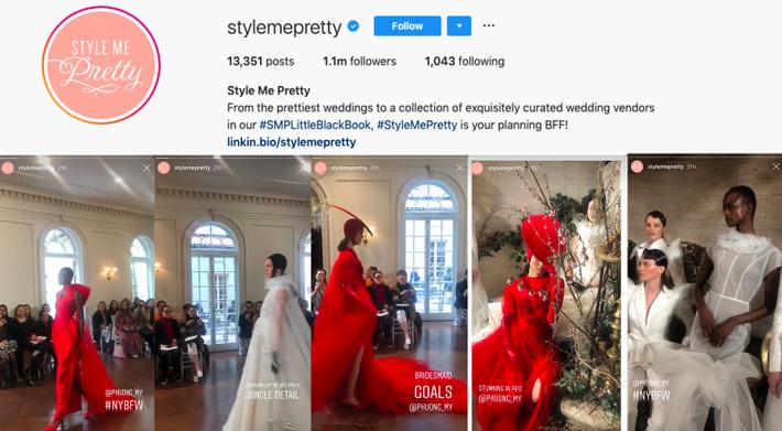 BST váy cưới PHUONG MY xuất hiện trên hàng loạt báo Mỹ sau New York Fashion Week Bridal - Ảnh 5.