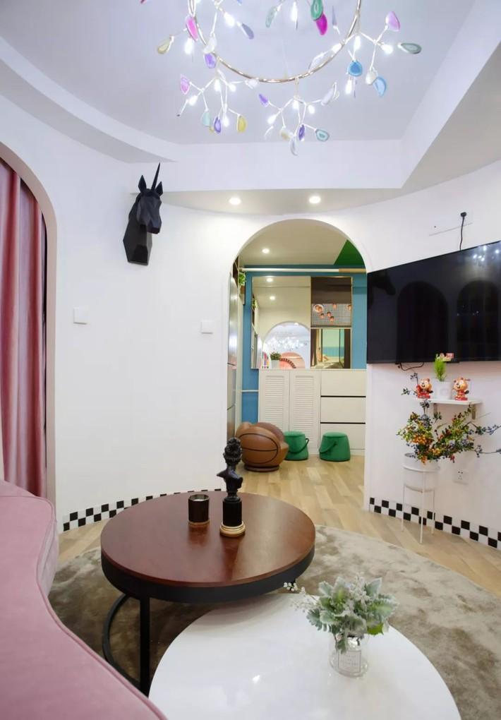 Cải tạo căn hộ: Từ cũ kỹ cặp vợ chồng trẻ đã cải tạo thành không gian sống đẹp như mơ - Ảnh 3.