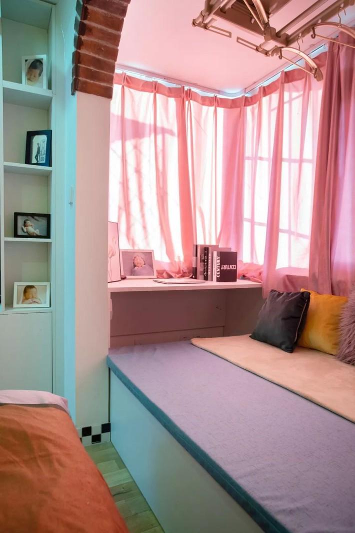 Cải tạo căn hộ: Từ cũ kỹ cặp vợ chồng trẻ đã cải tạo thành không gian sống đẹp như mơ - Ảnh 14.