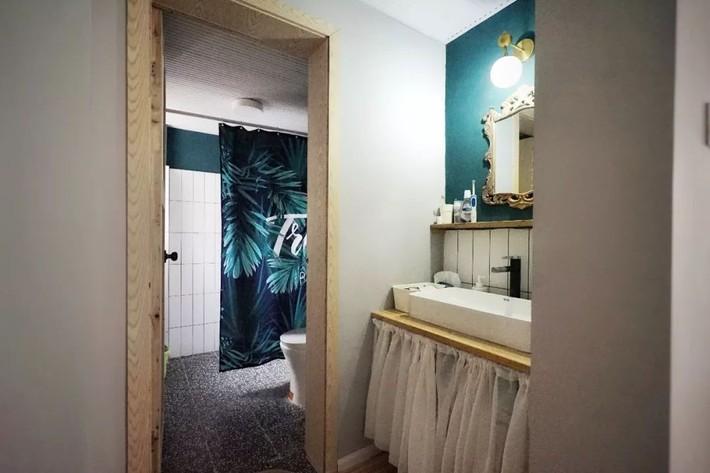 Hai cô gái thuê căn hộ 141m² và dành tiền cải tạo thành không gian ai nhìn cũng muốn xách vali đến ở - Ảnh 18.
