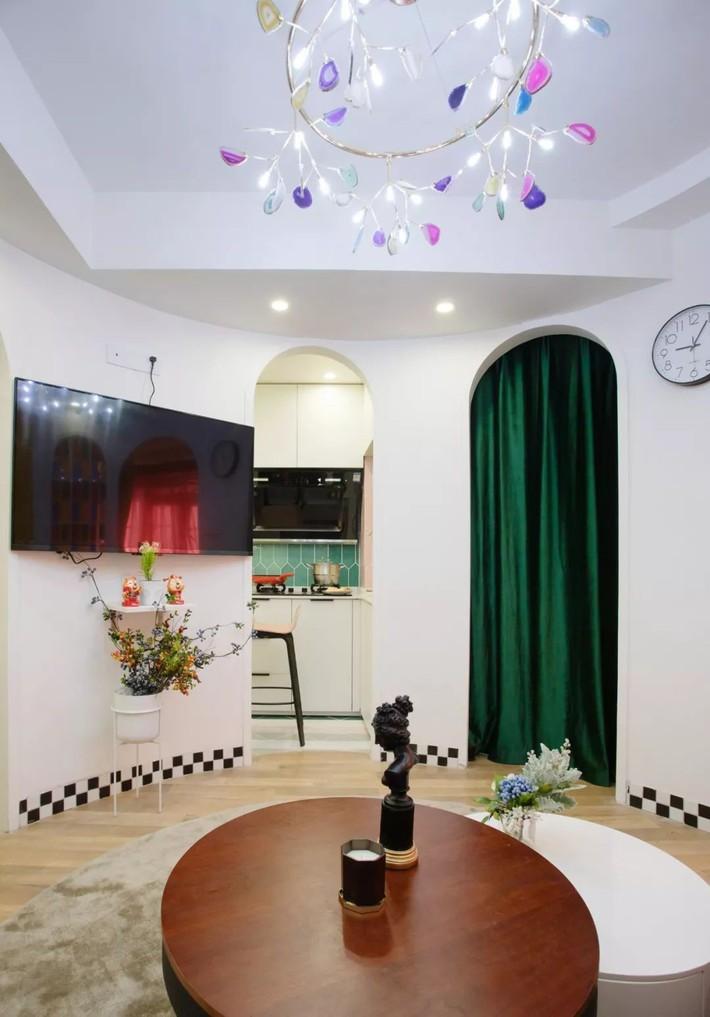 Cải tạo căn hộ: Từ cũ kỹ cặp vợ chồng trẻ đã cải tạo thành không gian sống đẹp như mơ - Ảnh 4.