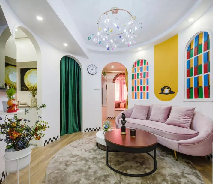 Cải tạo căn hộ: Từ cũ kỹ cặp vợ chồng trẻ đã cải tạo thành không gian sống đẹp như mơ - Ảnh 6.