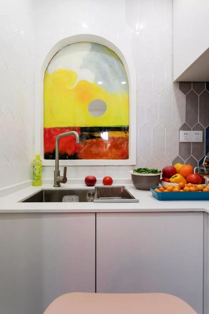 Cải tạo căn hộ: Từ cũ kỹ cặp vợ chồng trẻ đã cải tạo thành không gian sống đẹp như mơ - Ảnh 7.