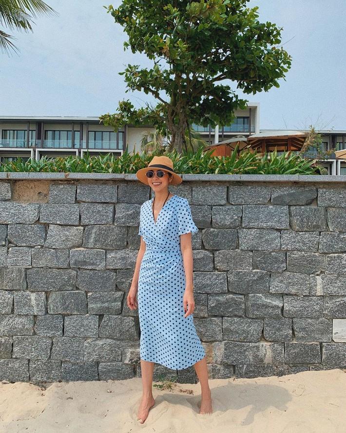 Kỳ Duyên tình ấm mặn nồng bên Minh Triệu, Hà Tăng diện váy sát nách đương đầu với nắng nóng trong street style tuần này - Ảnh 5.