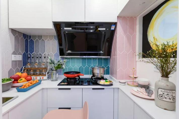 Cải tạo căn hộ: Từ cũ kỹ cặp vợ chồng trẻ đã cải tạo thành không gian sống đẹp như mơ - Ảnh 8.