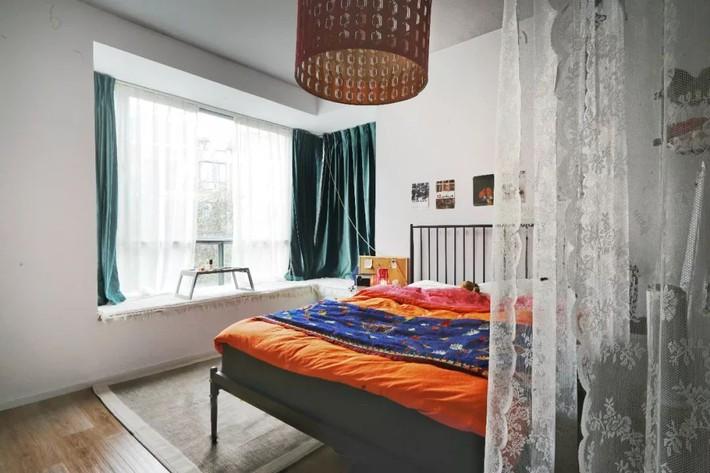 Hai cô gái thuê căn hộ 141m² và dành tiền cải tạo thành không gian ai nhìn cũng muốn xách vali đến ở - Ảnh 12.