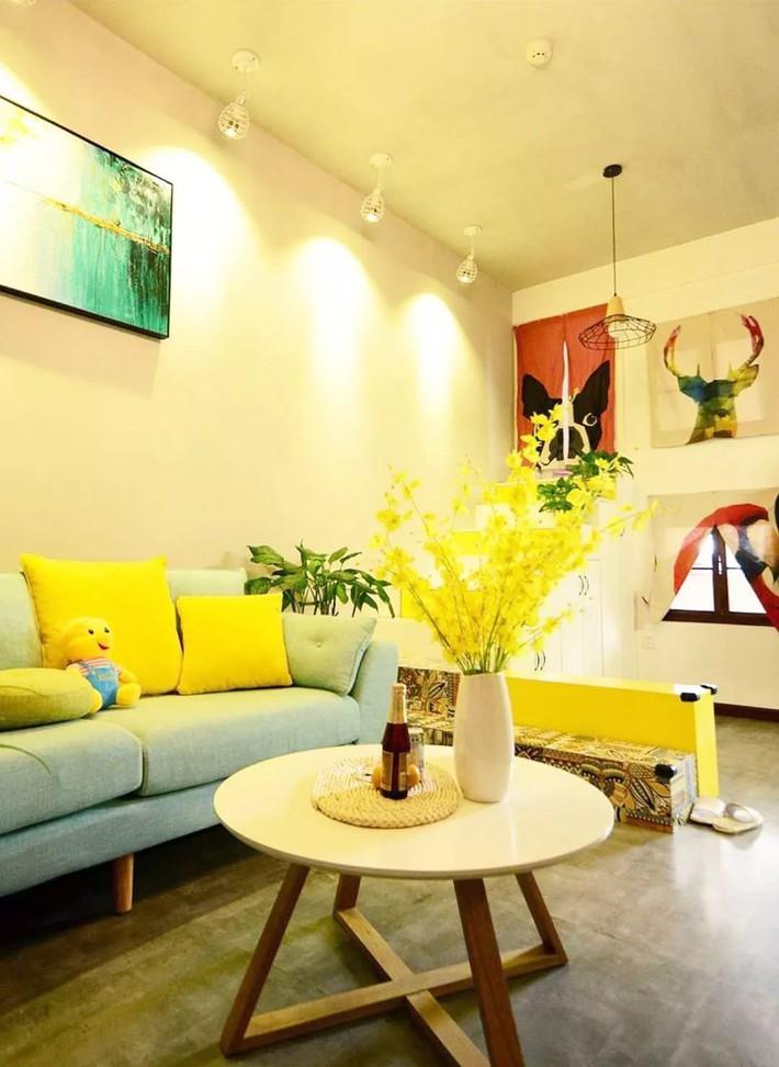 Nhà tập thể 35m² được thiết kế thông minh với 2 phòng ngủ dành cho gia đình 3 người - Ảnh 5.