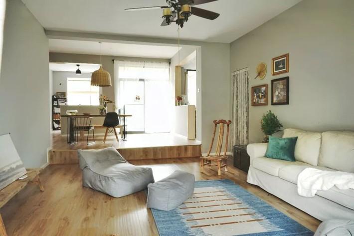 Hai cô gái thuê căn hộ 141m² và dành tiền cải tạo thành không gian ai nhìn cũng muốn xách vali đến ở - Ảnh 3.