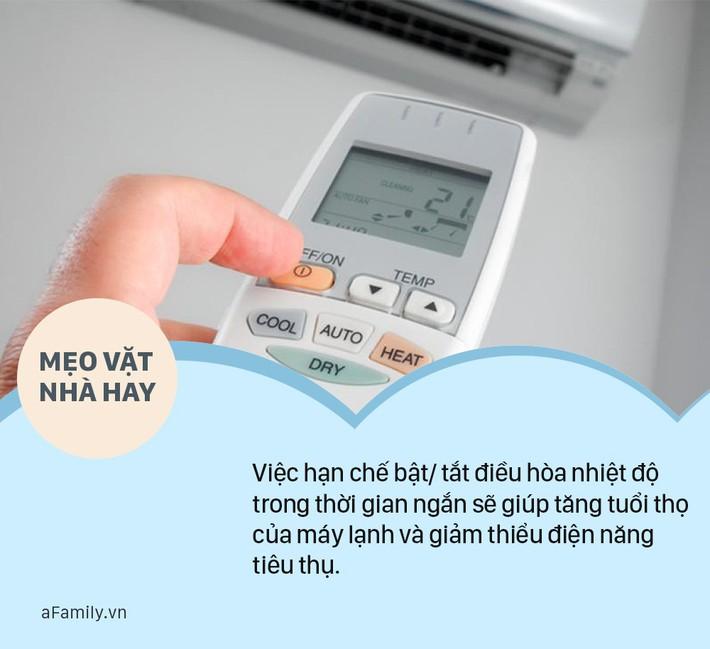 Để cuối tháng không rơi nước mắt về hóa đơn tiền điện thì hãy ghi nhớ 6 mẹo vặt sử dụng điều hòa thả ga dưới đây mà không lo tốn nhiều tiền - Ảnh 2.