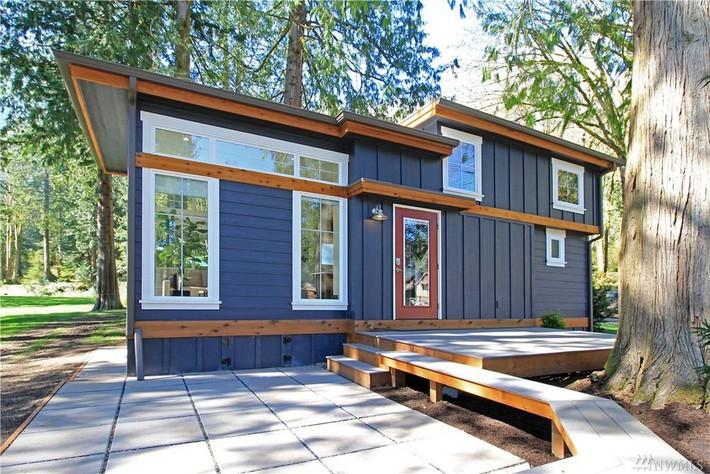 Học hỏi cách thiết kế của ngôi nhà nhỏ 37m² tiện lợi đủ đường - Ảnh 1.