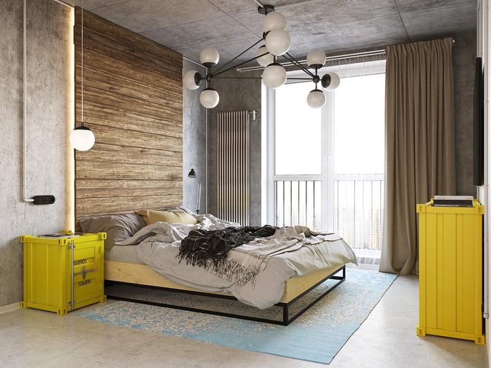 3 mẫu thiết kế phòng ngủ tràn ngập chất nghệ thuật đương đại khiến bạn thích mê - Ảnh 1.