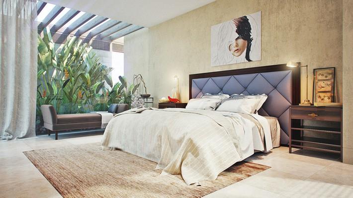 3 mẫu thiết kế phòng ngủ tràn ngập chất nghệ thuật đương đại khiến bạn thích mê - Ảnh 10.