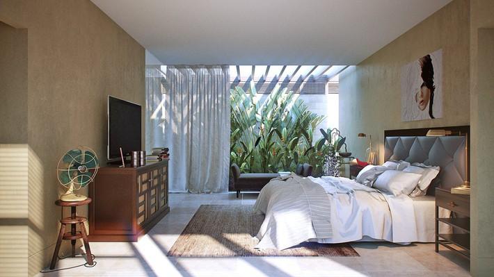 3 mẫu thiết kế phòng ngủ tràn ngập chất nghệ thuật đương đại khiến bạn thích mê - Ảnh 11.