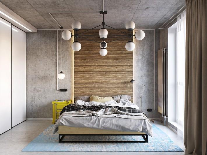 3 mẫu thiết kế phòng ngủ tràn ngập chất nghệ thuật đương đại khiến bạn thích mê - Ảnh 2.
